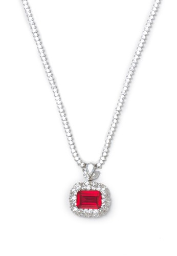 Celline Silver red Ruby Cubic Zirconia 25C73ACF327D3CGS_1