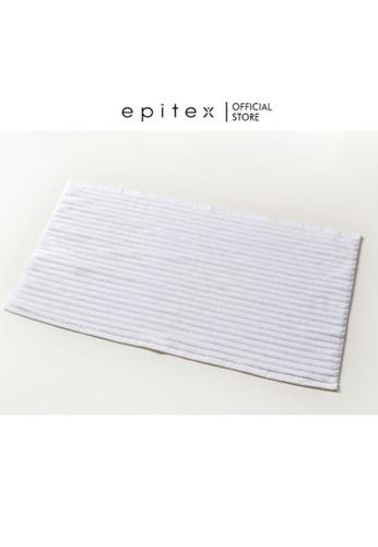 Epitex white Epitex Cotton Floor Towel - Rug - Carpet (White) 2A024HL8EF37FCGS_1