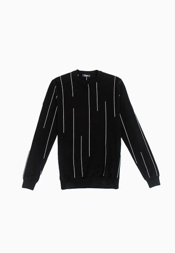 FOREST black Forest Fancy Knitted Long Sleeve T Shirt Men Sweater Men Knitwear - Baju Sweater Lelaki Knitwear - 23290 - Black BAEC6AA8FDA373GS_1