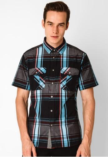 Watchout! Jeans blue Short Sleeve Shirt WA971AA56DEDID_1