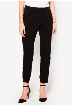 Collection Wrap Front Tailored Trousers