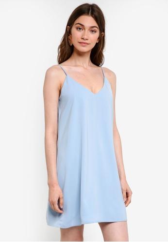 Something Borrowed blue Camisole Slip Dress 24C5CAA64DE082GS_1
