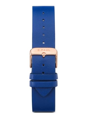 43mm 皮革錶帶, 錶類, esprit 請人皮革錶帶