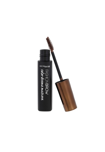 Maybelline brown Maybelline Fashion Brow Color Drama Mascara Natural Brown 586E3BEAA39072GS_1