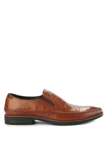 Playboy brown Flint Slip On EDC24SH9555A31GS_1