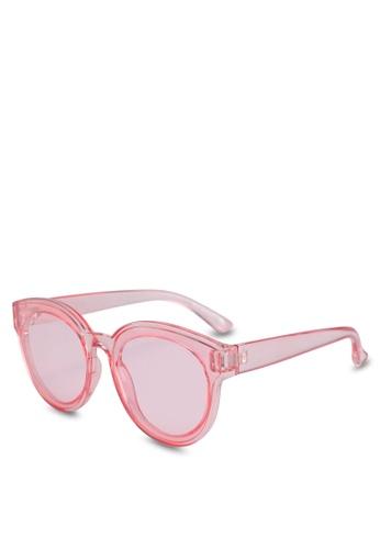 Call It Spring pink Teasien Sunglasses 6E311GL4C7B2ECGS_1