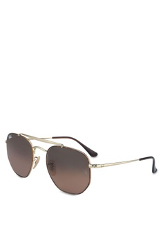 Ray-Ban brown The Marshal RB3648 Sunglasses D2E09GLA20CE9AGS 1 f990000d36b7