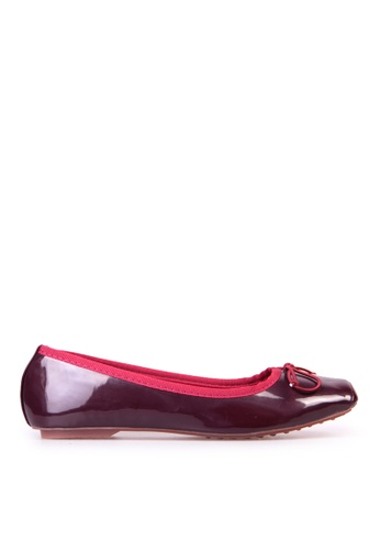 Sunnydaysweety red New Temperament Small Bow Comfortable Flat Shoes C12211wn SU443SH72ZZVHK_1