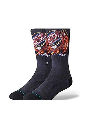 STANCE black Stance Harley Night Eagle Large - Black 3A288AA24057E7GS_1