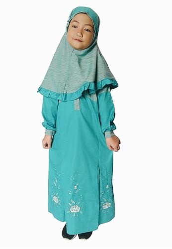 Arafah blue Gamis Anak Vida DEBFEKACEC2C03GS_1