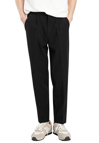 HAPPY FRIDAYS Double Fold Cropped Suit Pants AP-J2136 C725DAA1FFC114GS_1
