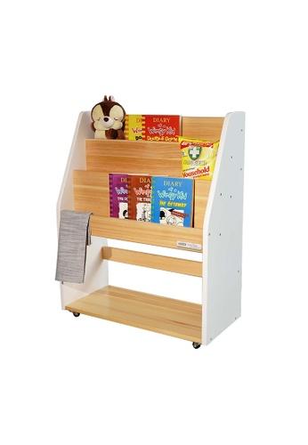 HOUZE white HOUZE - TOCAR Multipurpose Bookshelf - White 31AC6HL41DDC50GS_1