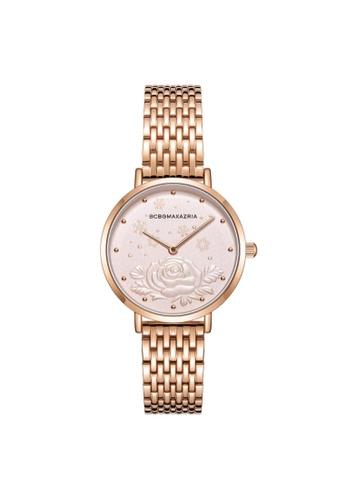 BCBG gold BCBGMAXAZRIA BG50990007 Rose Gold Stainless Steel Watch CAB0FACB13C282GS_1