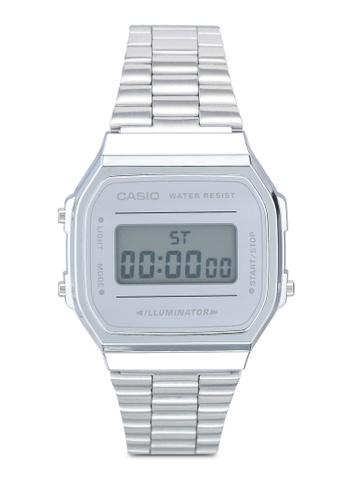 Casio silver Casio A168WEM-7 Watch F9070AC4D8A585GS_1