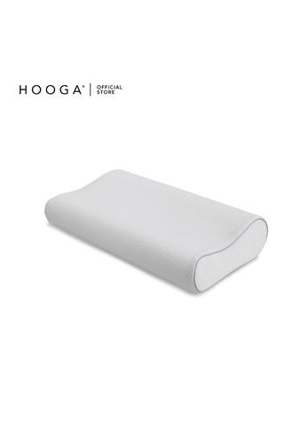 HOOGA white Hooga Contour Memory Pillow Leah. 89203HL8B90357GS_1