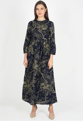 novel.mice multi Ethnic Tunic Olive New Dress 54819AA244F41AGS_1