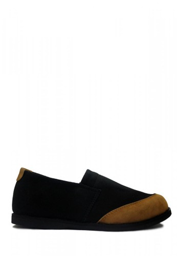 D-Island black D-Island Shoes Loafers Corduroy Comfort Leather Black DI594SH72CWDID_1