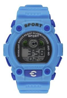 Sport Shock Resist Unisex Digital Watch H-803
