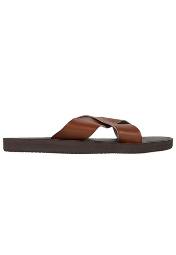 Tomaz brown Tomas TS68 Sandals 8F4D3SH85012BFGS_1