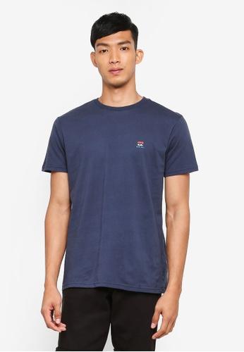 Billabong 海軍藍色 短袖印花T恤 C34BAAA6704539GS_1