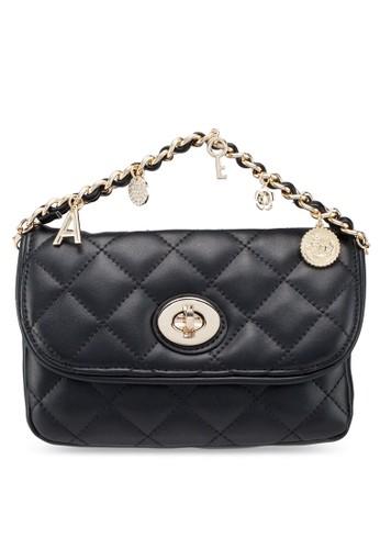 ALDO black and multi Agrama Belt Bag 095A9ACC6EE9D5GS_1