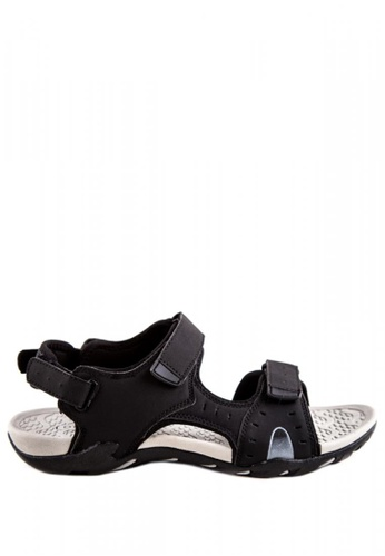 Otto black Hiking Sandals OT407SH0J0I2PH_1
