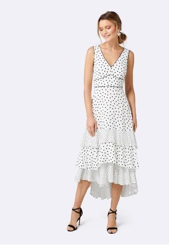 d2c8c3de351 Buy Forever New Serena Spot Mix Dress Online on ZALORA Singapore