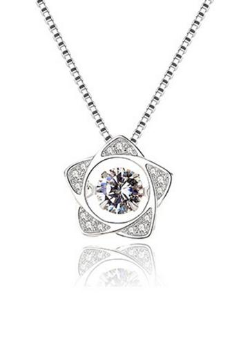 LYCKA silver LPP88064 S925 Silver Necklace 50082ACF4A9D7FGS_1