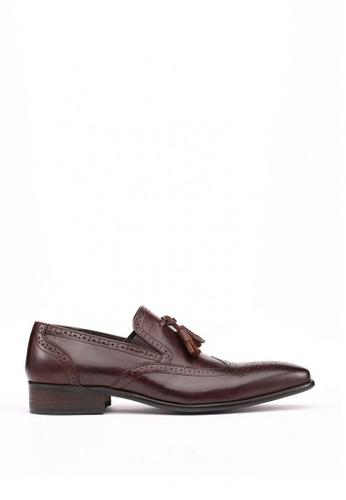 Kings Collection brown Cafaro Derbies Shoes KI358SH78DEZSG_1