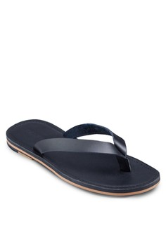 Leather Thong Strap Flip Flop