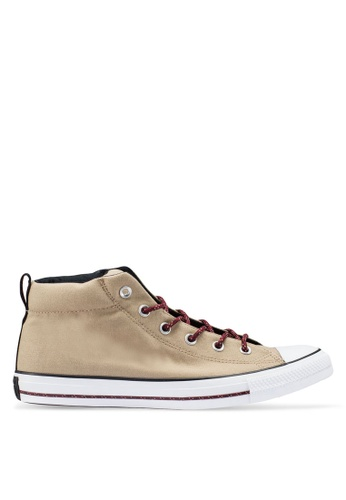 cd00eed39b9d Buy Converse Chuck Taylor All Star Great Outdoors Mid Sneakers Online on  ZALORA Singapore