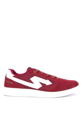 SONNIX red Maul Q218 Men's Lace Up Sneaker Shoes 3A24FSHD46FD75GS_1