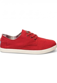 0012c7c6f45 TOMS red TOMS - Paseo Red Canvas MN 453F6SH590DA5BGS 1