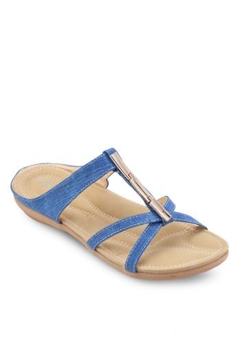 esprit outlet 台灣雙帶休閒涼鞋, 女鞋, 鞋