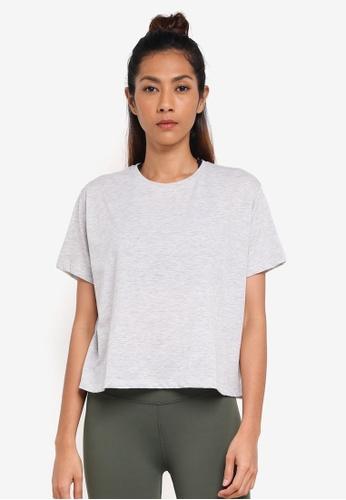 Cotton On Body grey Boxy T-Shirt BD8FFAAFCC49B1GS_1