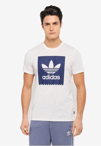 adidas white adidas solid bb t AD372AA0SSOHMY_1