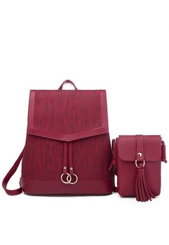 Twenty Eight Shoes Faux Leather Fashionable Backpack 865 89123AC33428D9GS_1