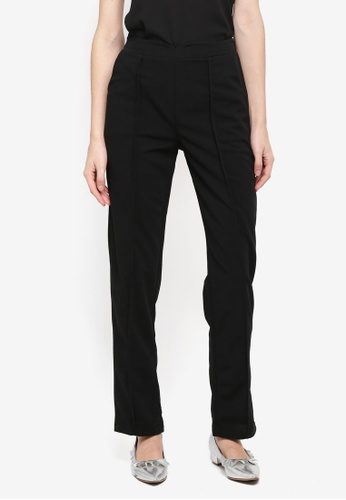 BYN black Straight Leg Pants 98207AA2399E6FGS_1