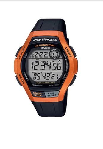 Casio black and brown Casio Digital Watch WS-2000H-4AVDF Brown Black 1F3B8AC97A8CA2GS_1