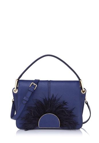 BONIA blue Dark Blue Puccini Shoulder Bag 4860FAC513CCEAGS 1 b4ae0c9939ced