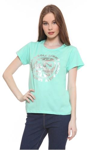 Habitat blue Middle Summer Beach T-Shirt D363DAA3E122CFGS_1