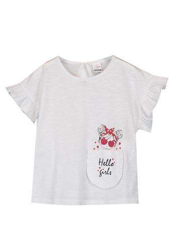 LC Waikiki white Baby Girl Printed Cotton T-Shirt 6602CKA622D853GS_1