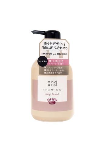 KAO KAO andand Airy Peach Shampoo 480ml B7344BE54B6CC4GS_1