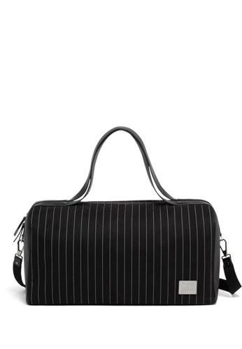 16a3f5f12e62 Lipault black Lipault Jean Paul Gaultier Collab Ampli Duffle Bag  327A4ACC30D8F1GS 1
