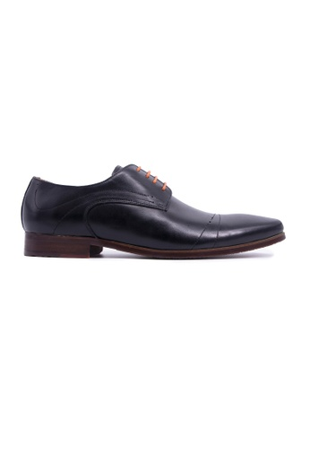 Rad Russel black Rad Russel Lace Up Derby-Black EFC21SH810912FGS_1