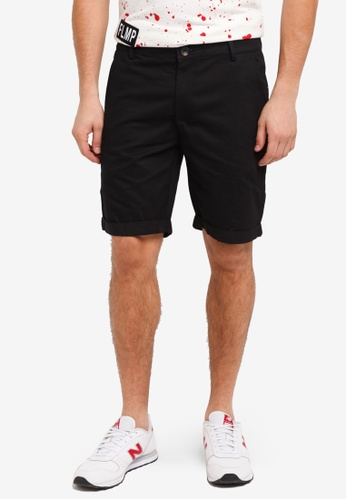 Flesh IMP 黑色 Yager Side Pocket Shorts 0B701AA10249E4GS_1