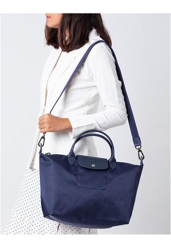 Buy LONGCHAMP Longchamp Le Pliage Neo Medium Top Handle Handbag ...