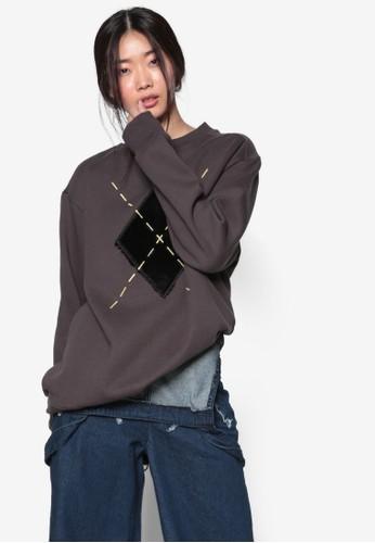 韓系時尚Azalora 手錶 評價rgyle 圓領長袖衫, 服飾, 外套