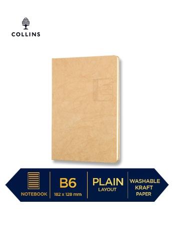 Collins brown Collins Serendipity   ─  Notebook B6 Plain  Brown 41EB3HL5391DF4GS_1