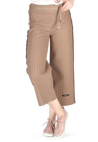 London Rag brown London Rag Women Tan striped Loose Pants CLG103_TAN 20311AA9BEBB03GS_1